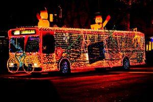 Autobus iznenadjenja Nova Godina